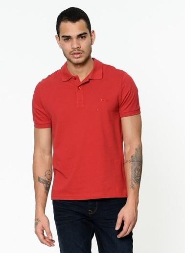 Lee Cooper Polo Yaka Tişört Kırmızı